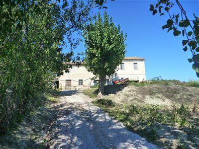 Casa colonica con terreno agricolo chiamacasa agenzia for Piani casa con breezeway tra casa e garage